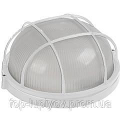 Светильник НПП1102 белый/круг с реш. 100Вт IP54, ІЕК