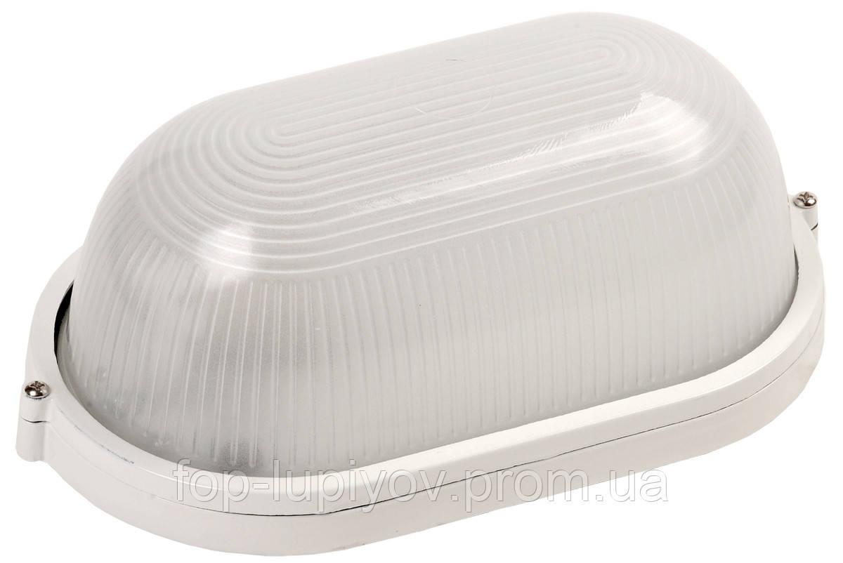 Светильник НПП1201 белый/овал 100Вт IP54, ІЕК