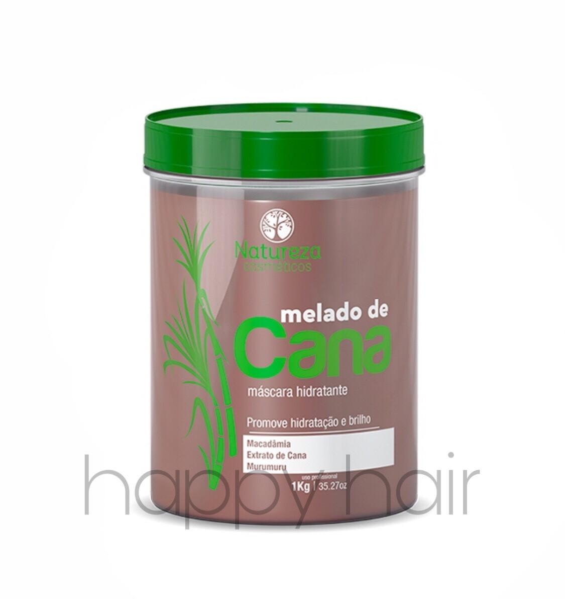 NATUREZA Melado de Cana Máscara Hidratante ботекс-гиперувлажнение для волос 1000 г