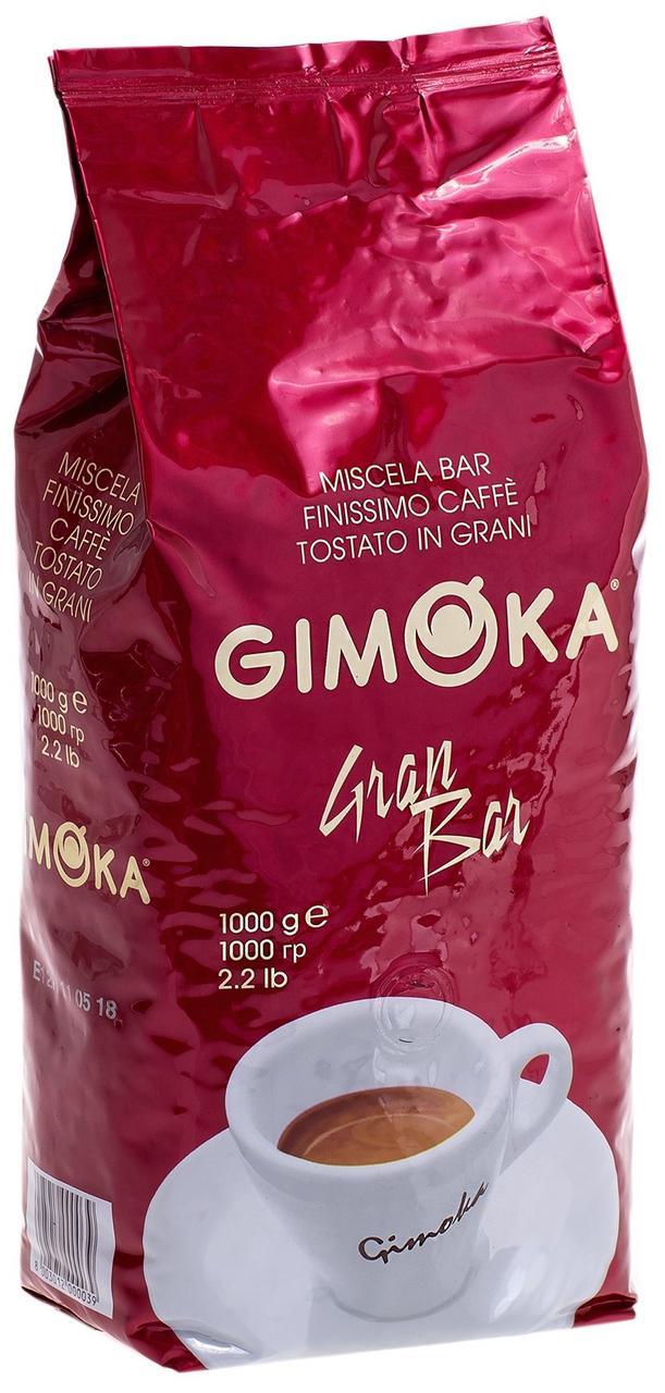 Кофе в зернах Gimoka Rosso Gran Bar 1 кг.