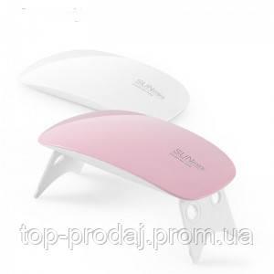 LED+UV Lamp SUN Mini 6W LED лампа для полимеризации гель-лака