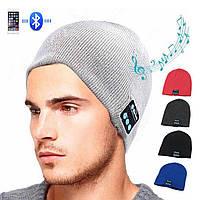 Шапка с bluetooth наушниками SPS Hat BT Grey, головной убор, аксессуар , фото 1