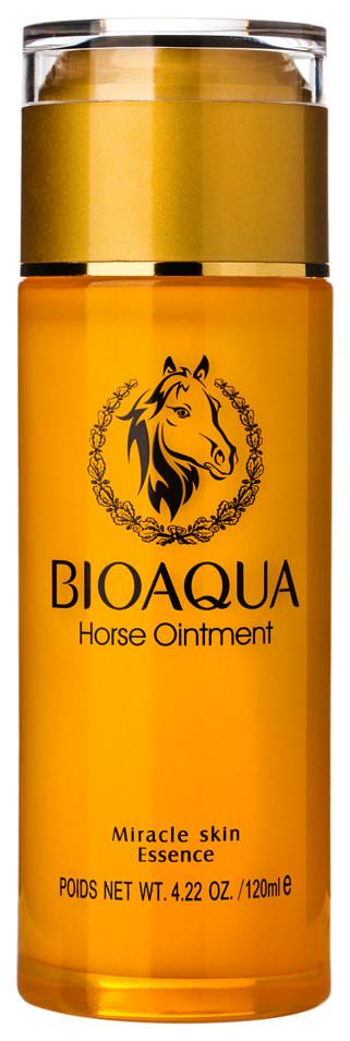 Питательная сыворотка для лица с лошадиным маслом BIOAQUA Horse Ointment Cream Miracle Skin Essence