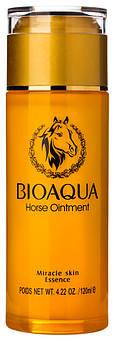 Питательная сыворотка для лица с лошадиным маслом BIOAQUA Horse Ointment Miracle Skin Essence 120 мл