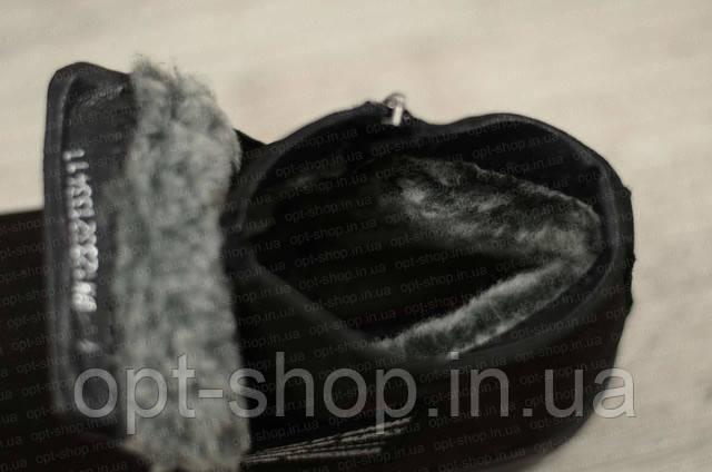 Зимові чоловічі шкіряні черевики