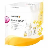Пакеты для паровой стерилизации бутылочек в микроволновой печи Medela, 5 шт.