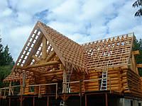Монтаж ,изготовление  стропильной системы крыши  в Херсоне
