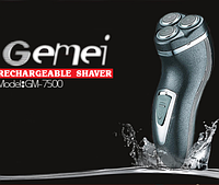 Аккумуляторная Электробритва Gemei GM 7500, фото 1