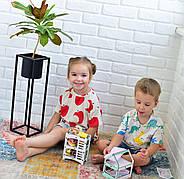 Трехъярусная кроватка (Мятная) для кукол LOL, фото 6