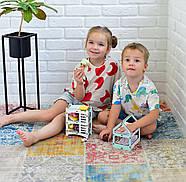 Трехъярусная кроватка (Мятная) для кукол LOL, фото 7