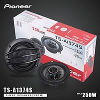 Автоколонки Pioneer TS-1374, Автомобильные акустические динамики колонки, колонки Pioneer 13 см в автомобиль, фото 1