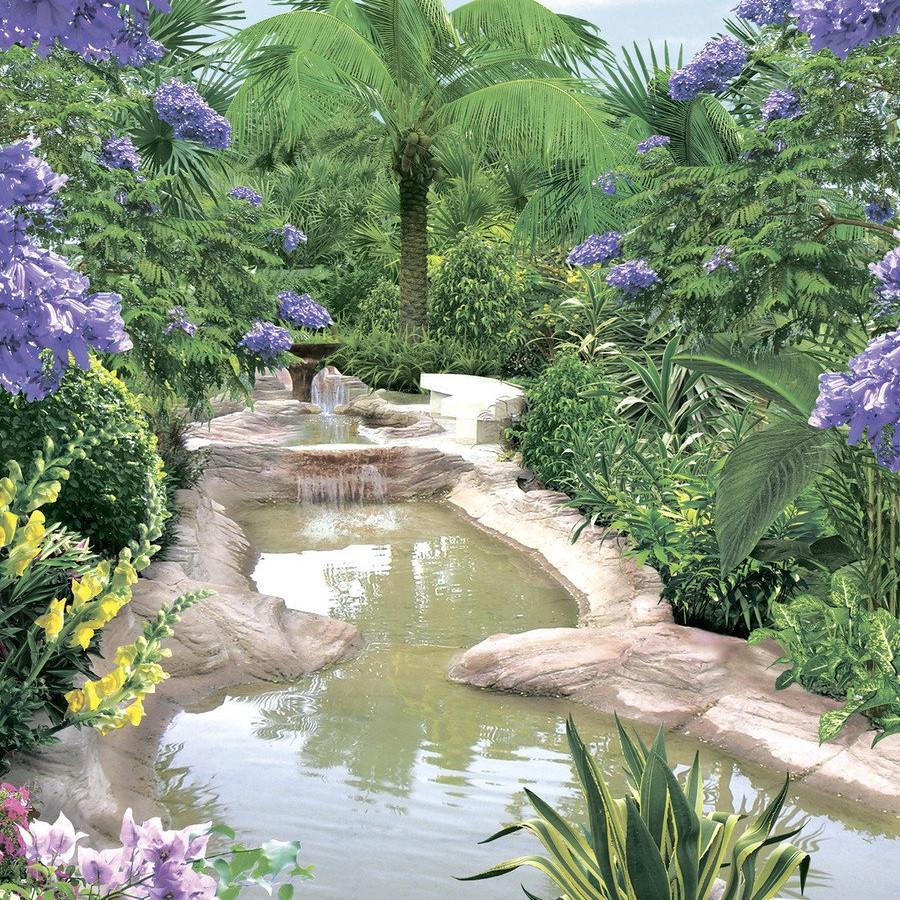 Фотообои, Восточный сад, 8 листов, 140х196 см