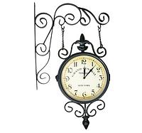 Двусторонние настенные часы RETRO 65334