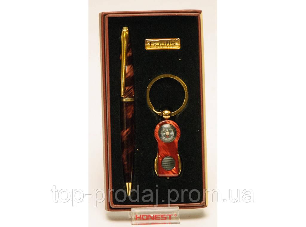 Подарочный набор NOBILIS PN4-5851: ручка + брелок/фонарик ,Брелок для ключей с фонариком, Cувенир