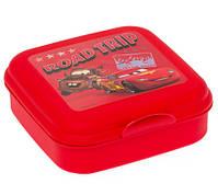 Ланч-бокс HEREVIN Disney Cars McQueen Road Trip Красный (161456-120)