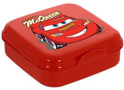 Ланч-бокс HEREVIN Disney Cars McQueen Квадратный Красный матовый (161456-121)