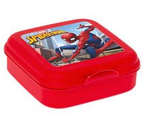 Ланч-бокс HEREVIN MARVEL Spider-Man 2 Квадратный Красный матовый (161456-191)