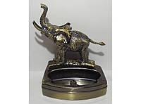 PC3-27 Пепельница + Зажигалка Слон, Пепельница и зажигалка в подарок, Настольная зажигалка с пепельницей