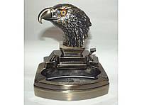 PC3-43 Пепельница + Зажигалка в виде Орлиной головы, Настольная пепельница с зажигалкой, Сувенир