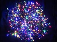Новогодняя Внутренняя Гирлянда Нить на Елку 500 Лампочек Разноцветная