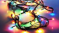 Новогодняя Внутренняя Гирлянда Нить на Елку 140 Лампочек Разноцветная