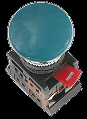 """Кнопка AEА-22 """"Грибок"""" зеленая d22мм 1з+1р, ІЕК"""