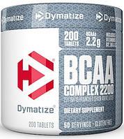 Аминокислоты Dymatize Nutrition - BCAA Complex 2200 (200 таблеток)