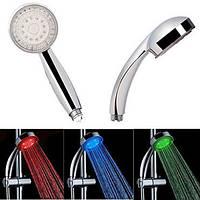 Насадка для душа LED SHOWER 3 colour, Насадка для подсветки воды из душа, Светодиодная насадка для душа