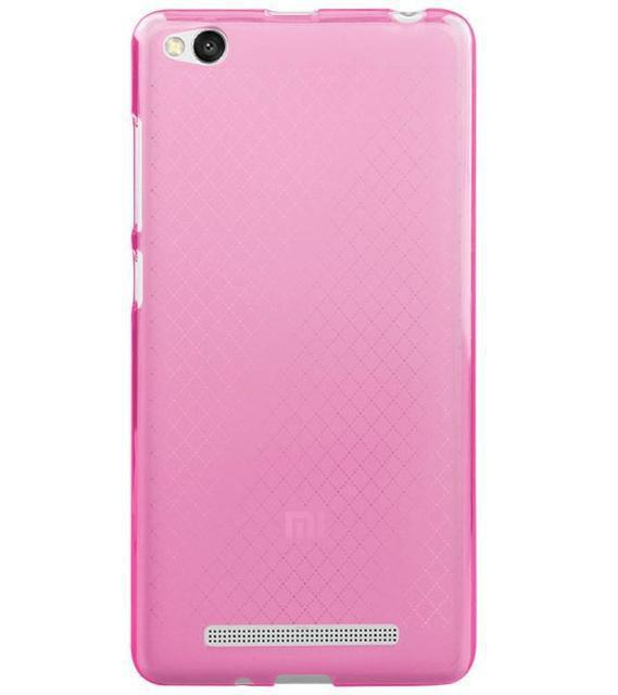 Чехол бампер для Xiaomi Redmi 3 силиконовый. Розовый