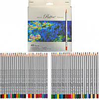 Карандаши цветные Marco Raffine 48 цветов, картон упак. 7100-48CB