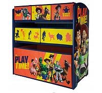 Детский комод / органайзер для игрушек TOY STORY история игрушек