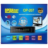 Приставка-ресивер, Тюнер Т2, Приставка Т2 OPERAsky OP-207, Цифровой тюнер Т2, приймач телевiзiйний