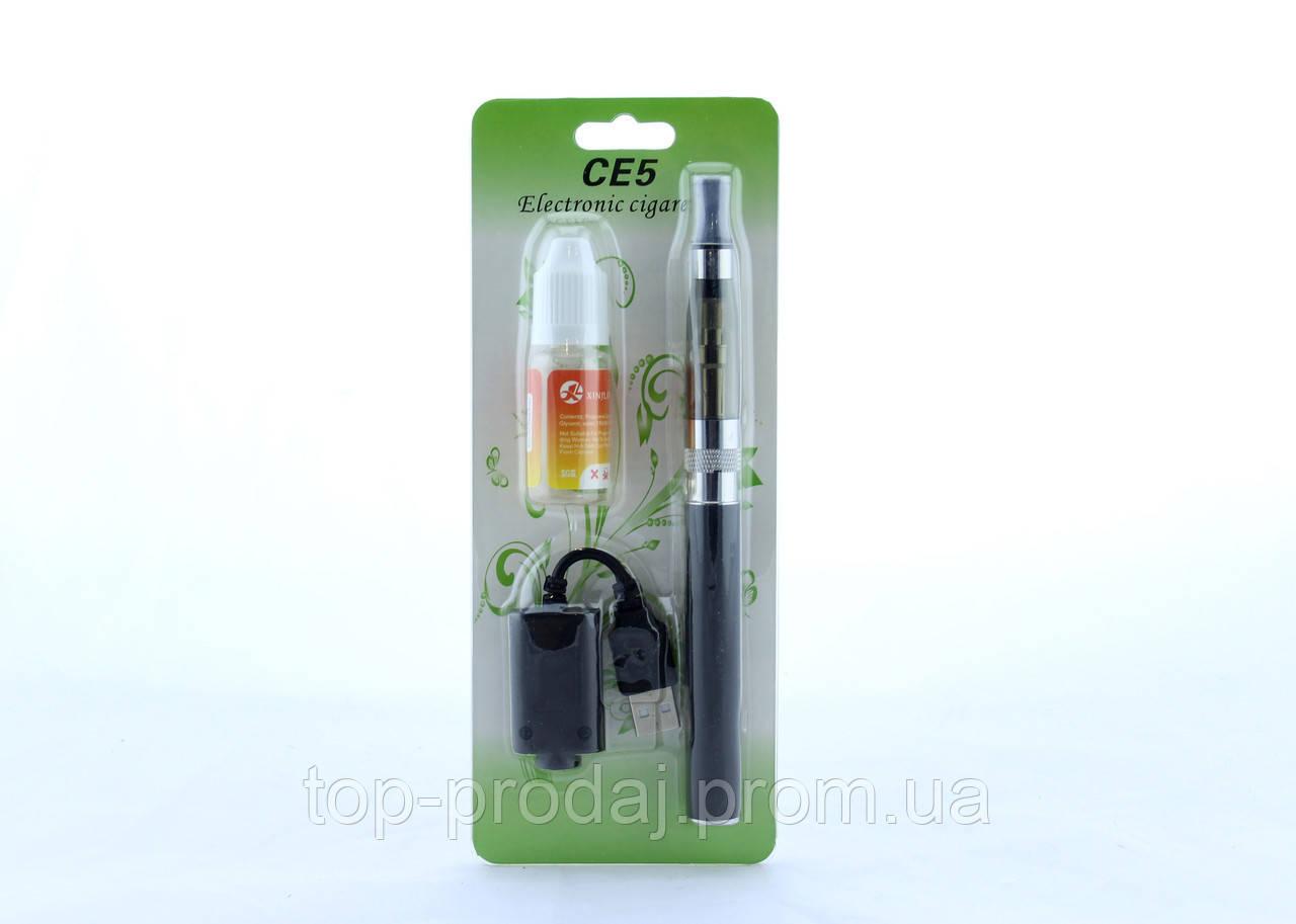 CE5 Электронная сигарета  с жидкостью для заправки + USB, Испаритель ,Vape