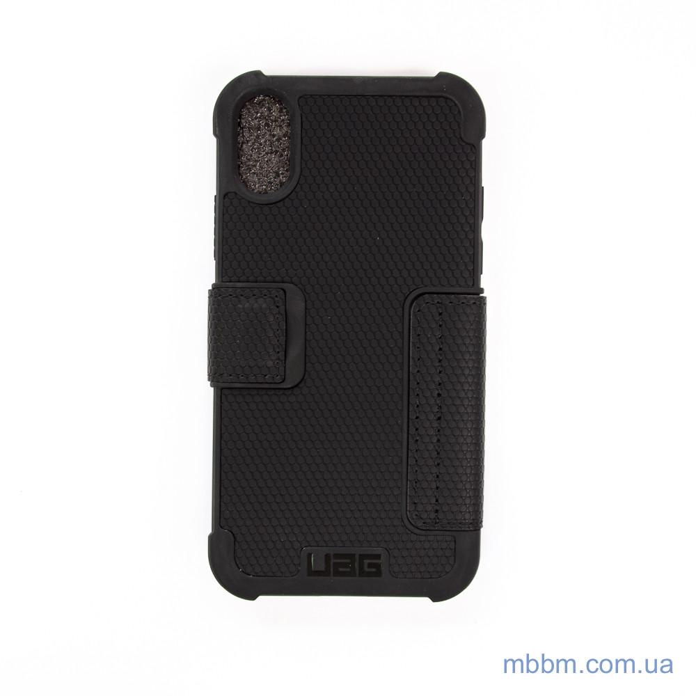 Накладка UAG Metropolis iPhone Xs X Black Черный Чехол Urban Armor Gear