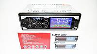Автомагнитола Pioneer MP3 3883 ISO 1DIN, Магнитола в авто 1 Дин, Сенсорная автомагитола, Акустика в машину