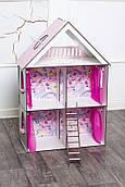 Крашеный кукольный домик для LOL LITTLE FUN maxi с обоями