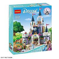 """Конструктор Decool 70224 (Аналог Lego Disney Princess 41154) """"Волшебный замок Золушки""""594 деталей, фото 1"""
