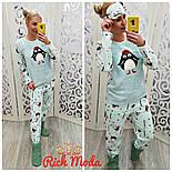 Женская красивая и теплая пижама/домашний костюм, фото 3