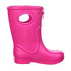 Розовые сапоги на дождь из пены ЭВА, р.28/29, стелька 18 см. Резиновые сапоги., фото 2
