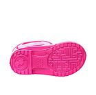 Розовые сапоги на дождь из пены ЭВА, р.28/29, стелька 18 см. Резиновые сапоги., фото 4