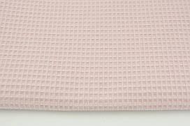 Мягкая Вафелька пудрово-розовая 160 см