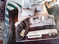 Комплект постельного белья Тиротекс натуральный сублимация Мистер Бантик