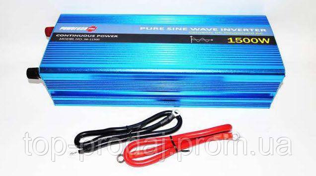 Синусоидальный преобразователь  AC/DC 1500W , Преобразователь 1500 W, Инвертор, Универсальный инвертор