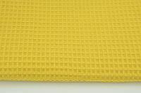 М'яка Вафелька гірчично-жовта 160 см, фото 1