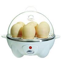 Яйцеварка электрическая Egg Cooker, Яйцеварка egg cooker, Набор для варки яиц, Яйцеварка автоматическая, фото 1