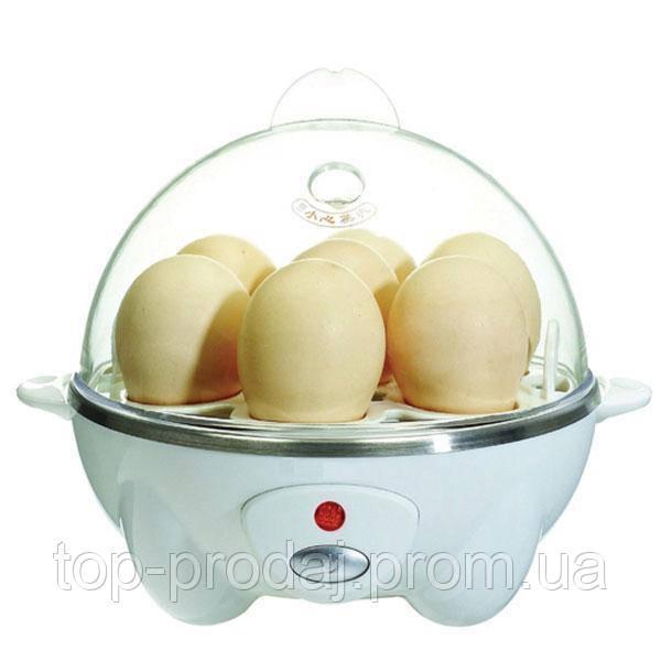 Яйцеварка электрическая Egg Cooker, Яйцеварка egg cooker, Набор для варки яиц, Яйцеварка автоматическая