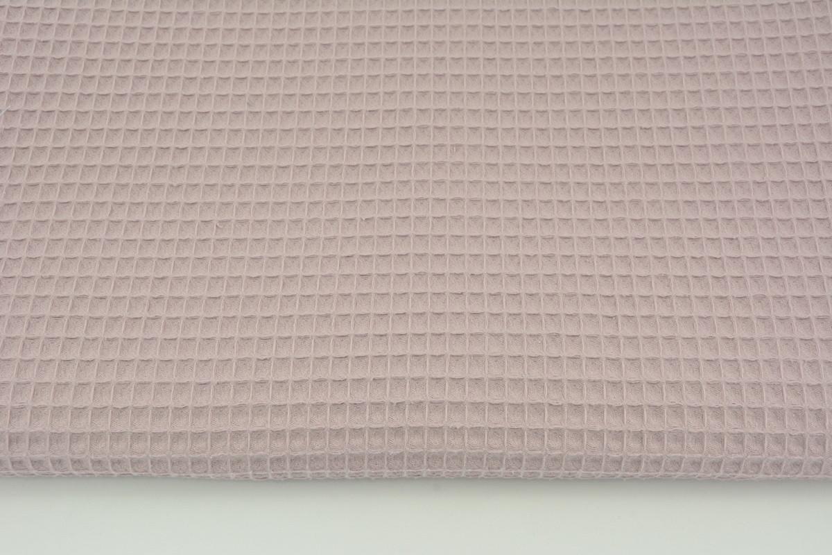 Хлопковая ткань Вафелька лиловая 160 см
