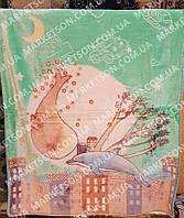 Детское меховое бамбуковое одеяло покрывало 110х140