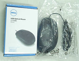Мышь, DELL Optical Mouse MS111, USB