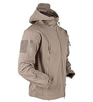 Куртка тактическая Softshell Esdy Shark Skin 01. Койот
